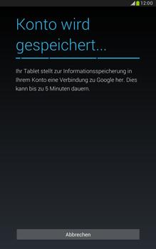 Samsung N5100 Galaxy Note 8-0 - Apps - Konto anlegen und einrichten - Schritt 18