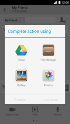 Huawei Ascend G6 - MMS - Sending pictures - Step 12