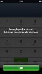Apple iPhone 5 - SMS - configuration manuelle - Étape 7