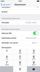 Apple iPhone 6 iOS 8 - E-mail - Account instellen (POP3 met SMTP-verificatie) - Stap 20