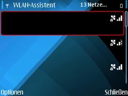Nokia E71 - WLAN - Manuelle Konfiguration - Schritt 6