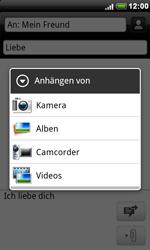 HTC Desire - MMS - Erstellen und senden - 2 / 2