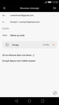 Huawei G8 - E-mail - envoyer un e-mail - Étape 14