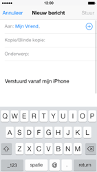 Apple iPhone 5s - E-mail - E-mails verzenden - Stap 6