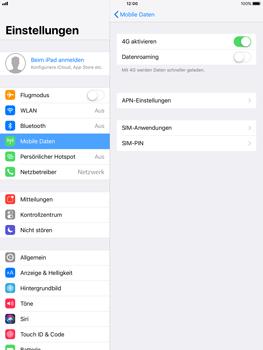 Apple ipad-pro-9-7-inch-mit-ios-11 - Ausland - Im Ausland surfen – Datenroaming - Schritt 7
