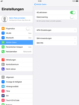 Apple iPad Pro 9.7 inch - Ausland - Im Ausland surfen – Datenroaming - 0 / 0