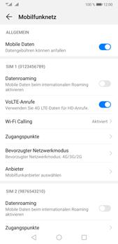 Huawei P20 Pro - Android Pie - Netzwerk - So aktivieren Sie eine 4G-Verbindung - Schritt 7