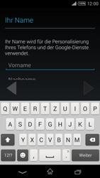 Sony Xperia T3 - Apps - Konto anlegen und einrichten - 5 / 22