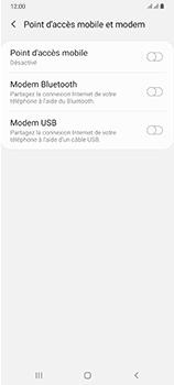 Samsung Galaxy A70 - Internet et connexion - Utiliser le mode modem par USB - Étape 8