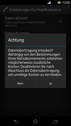 Sony Xperia T - Internet und Datenroaming - Manuelle Konfiguration - Schritt 7