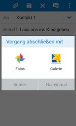 Samsung G388F Galaxy Xcover 3 - E-Mail - E-Mail versenden - Schritt 12