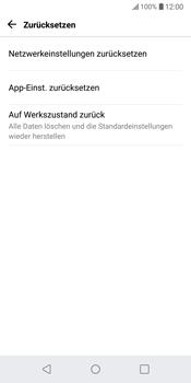 LG G6 - Fehlerbehebung - Handy zurücksetzen - 7 / 12