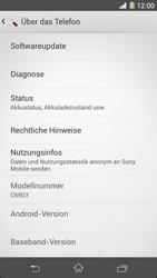 Sony Xperia Z1 - Software - Installieren von Software-Updates - Schritt 6