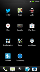 HTC One - Applicaties - Account instellen - Stap 3