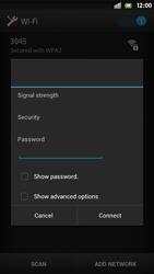 Sony Xperia S - WiFi - WiFi configuration - Step 7