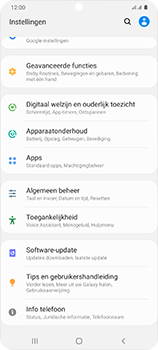 Samsung Galaxy S20 Ultra 5G Dual SIM eSIM SM-G988B - Software updaten - Update installeren - Stap 4