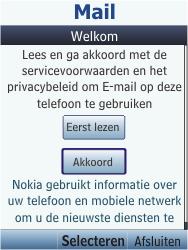 Nokia C2-05 - E-mail - handmatig instellen - Stap 4