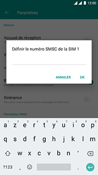 OnePlus 3 - Android Oreo - SMS - Configuration manuelle - Étape 7