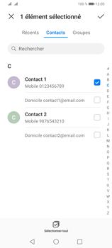 Huawei Y6P - Contact, Appels, SMS/MMS - Envoyer un SMS - Étape 6