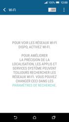 HTC One A9 - Internet et connexion - Accéder au réseau Wi-Fi - Étape 5