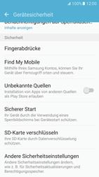Samsung Galaxy S7 - Datenschutz und Sicherheit - PIN-Code der SIM-Karte ändern - 2 / 2