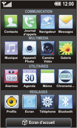 LG GC900 Viewty Smart - Internet - Navigation sur Internet - Étape 2