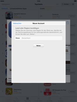 Apple iPad mini iOS 7 - Apps - Einrichten des App Stores - Schritt 8