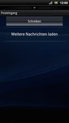 Sony Ericsson Xperia Arc S - E-Mail - Konto einrichten - Schritt 4