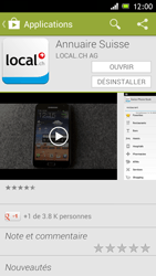 Sony Xperia J - Applications - Installation d