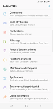 Samsung Galaxy S8 Plus - Wi-Fi - Accéder au réseau Wi-Fi - Étape 4