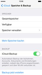 Apple iPhone 5 iOS 7 - Apps - Konfigurieren des Apple iCloud-Dienstes - Schritt 10