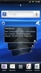 Sony Ericsson R800 Xperia Play - E-mail - hoe te versturen - Stap 1