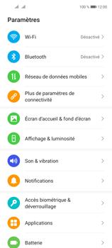 Huawei P40 Lite 5G - Internet et connexion - Partager votre connexion en Wi-Fi - Étape 3