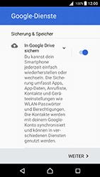 Sony Xperia X - E-Mail - Konto einrichten (gmail) - 1 / 1