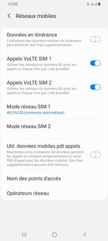 Samsung Galaxy A42 5G - Internet et connexion - Activer la 4G - Étape 8