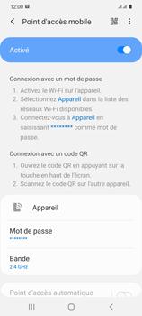 Samsung Galaxy S20 5G - WiFi - Comment activer un point d'accès WiFi - Étape 12