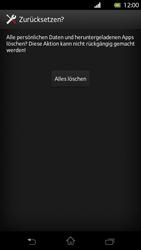 Sony Xperia T - Fehlerbehebung - Handy zurücksetzen - 9 / 10