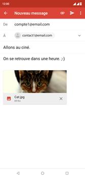 Wiko View 2 Plus - E-mail - envoyer un e-mail - Étape 14