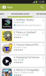 Samsung S7275 Galaxy Ace 3 - Apps - Herunterladen - Schritt 7