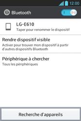 LG E610 Optimus L5 - Bluetooth - connexion Bluetooth - Étape 8