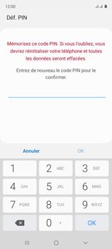 Samsung Galaxy A51 - Sécuriser votre mobile - Activer le code de verrouillage - Étape 9