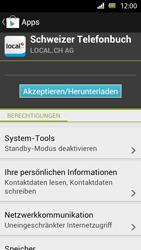 Sony Xperia U - Apps - Installieren von Apps - Schritt 8
