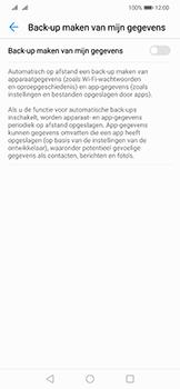 Huawei Mate 20 Lite - toestel resetten - back-up maken met jouw account - stap 8