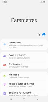 Samsung Galaxy A10 - Internet et connexion - Désactiver la connexion Internet - Étape 4