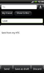 HTC S510e Desire S - E-mail - Sending emails - Step 7