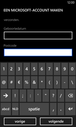 Nokia Lumia 625 - Applicaties - Account aanmaken - Stap 20