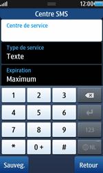 Samsung S8530 Wave II - SMS - configuration manuelle - Étape 7