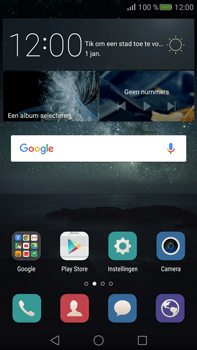 Huawei Mate S - Internet - internetten - Stap 1