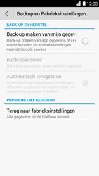Huawei Ascend G6 - Toestel - Fabrieksinstellingen terugzetten - Stap 6