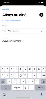 Apple iPhone 11 - E-mail - envoyer un e-mail - Étape 6